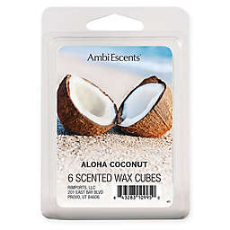 AmbiEscents™ 6-Pack Aloha Coconut Scented Wax Cubes