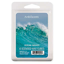 AmbiEscents™ 6-Pack Ocean Waves Scented Wax Cubes