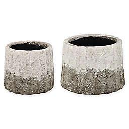 A&B Home Katja Nested Decorative Bowls (Set of 2)