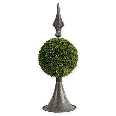 A&B Home Spired Boxwood Topiary Sphere