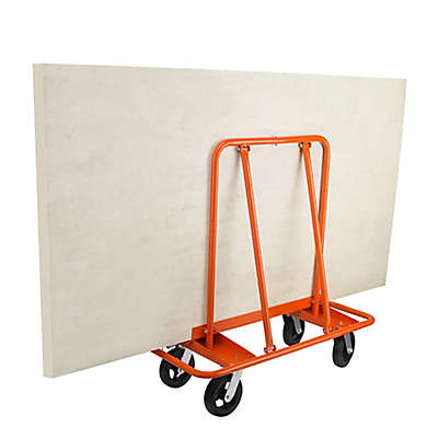 Wall Fetcher Pro Dry Wall Hauler Dolly in Orange