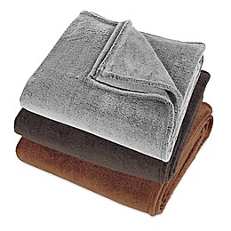 Berkshire Blanket® Frosted VelvetLoft Throw Blanket
