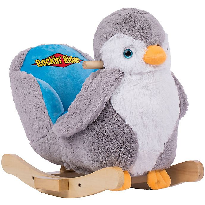 Alternate image 1 for Rockin Rider® Percy the Penguin Baby Rocker