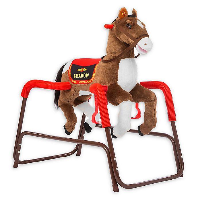 Alternate image 1 for Rockin' Rider Shadow Spring Rocking Horse in Brown
