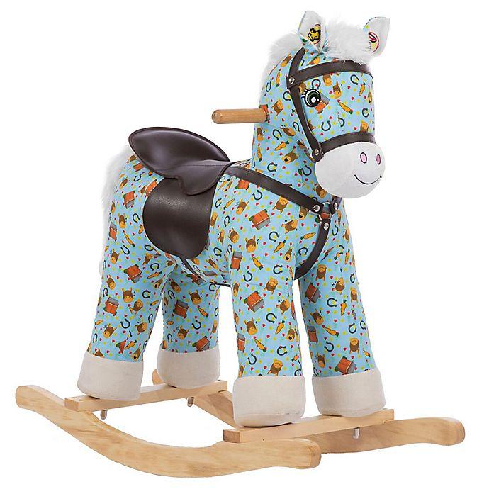 ce4064ac Rockin' Rider Casey Rocking Horse in Blue | buybuy BABY