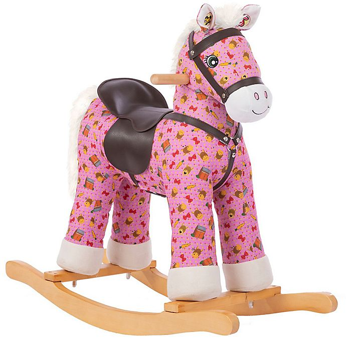 Alternate image 1 for Rockin' Rider Carly Rocking Horse in Pink