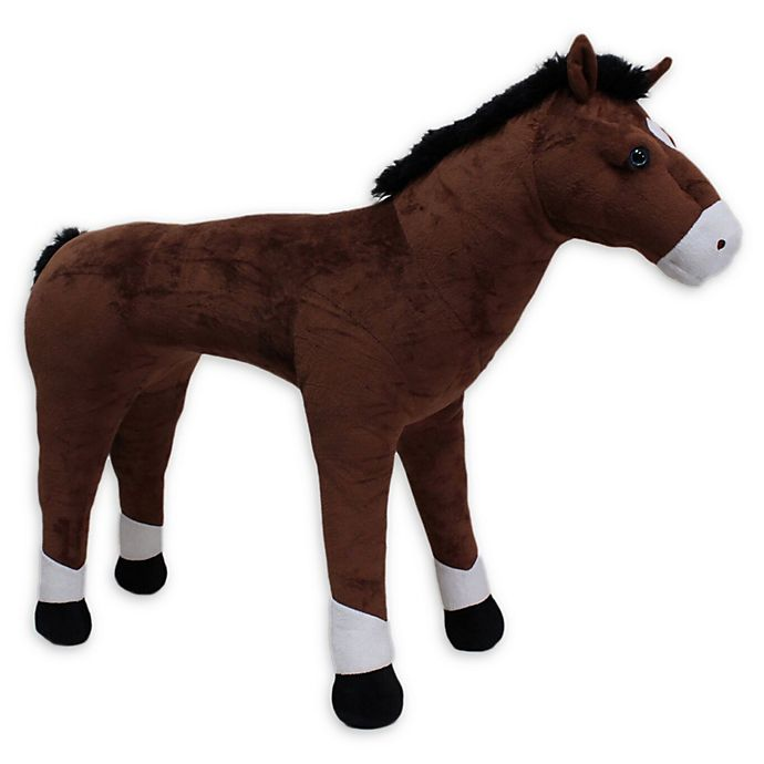 Alternate image 1 for Rockin' Rider Ranger Standing Horse in Brown