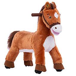 Rockin' Rider Speedy Riding Pony in Brown