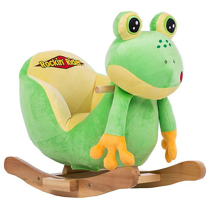 Alternate image 1 for Rockin Rider® Fredie the Frog Baby Rocker