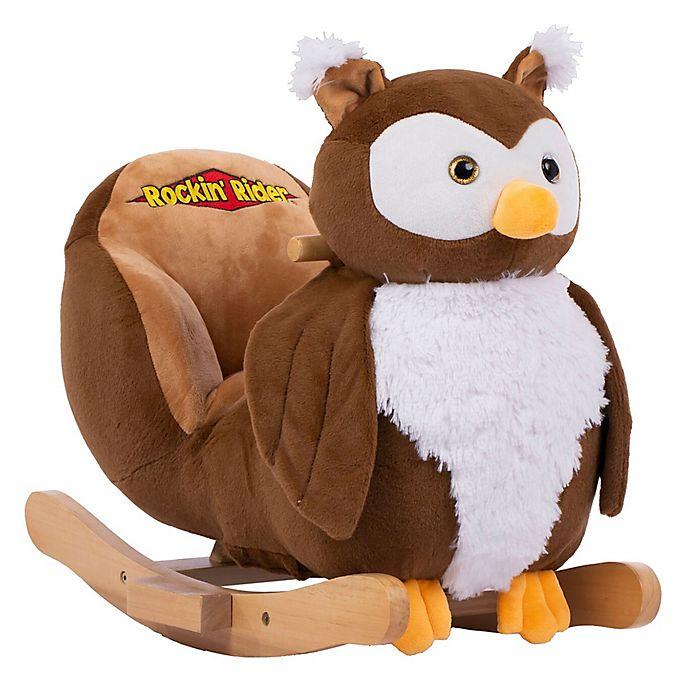 Alternate image 1 for Rockin Rider® Hootie the Owl Baby Rocker