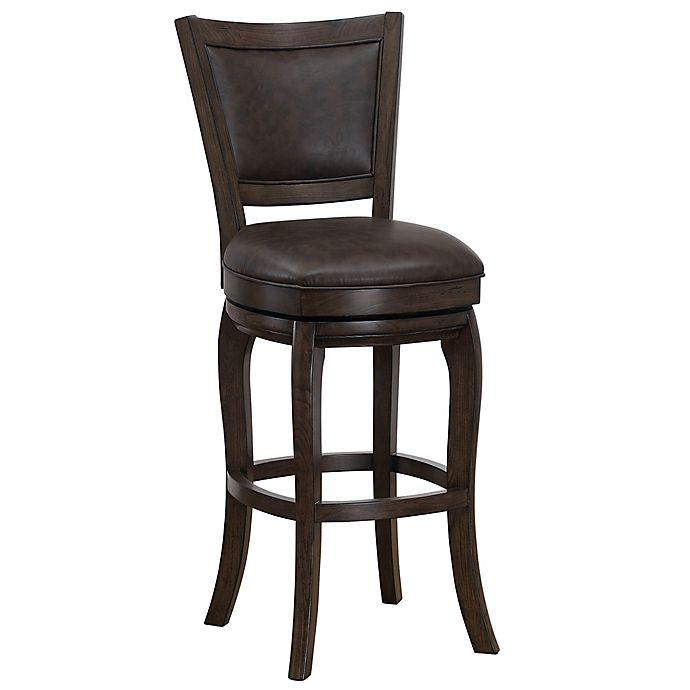 American Heritage Furniture Bar Stools Heritage Furniture: American Heritage Billiards Leather Swivel Madison Bar