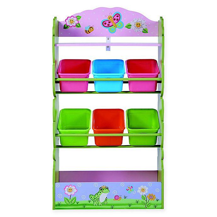 Alternate image 1 for Fantasy Fields Magic Garden 7-Compartment Toy Organizer