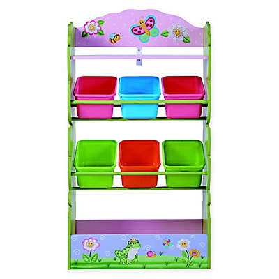 Fantasy Fields Magic Garden 7-Compartment Toy Organizer
