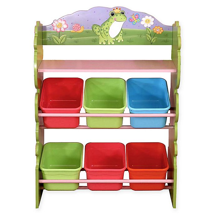 Alternate image 1 for Fantasy Fields 6-Compartment Toy Organizer