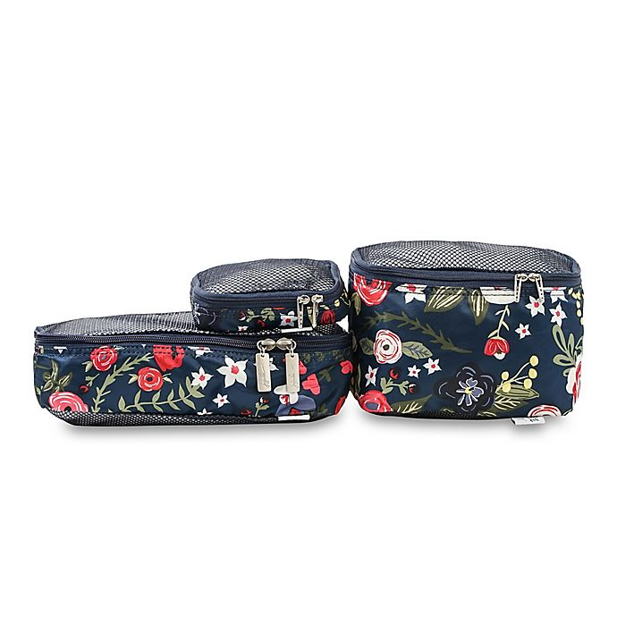 Alternate image 1 for Ju-Ju-Be® Be Organized 3-Piece Midnight Posy Bag Set in Navy