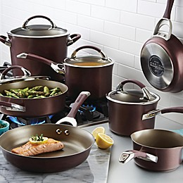 Circulon® Symmetry™ Nonstick Hard-Anodized 11-Piece Cookware in Merlot