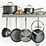 Part of the Anolon® Accolade Precision Forge™ Hard Anodized 10-Piece Cookware Set plus GWP in Moonstone