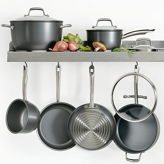 Alternate image 1 for Anolon® Accolade Hard Anodized Cookware Collection in Moonstone