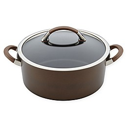 Circulon® Symmetry™ Nonstick Hard Anodized 7 qt. Covered Dutch Oven in Chocolate