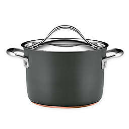 Anolon® Nouvelle Copper Stainless Steel 4 qt. Covered Soup Pot
