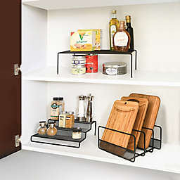 Seville Classics 3-Piece Mesh Kitchen Organizer Set
