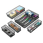 Seville Classics 5-Piece Mesh Drawer Organizer