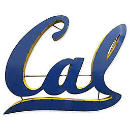 University of California Berkeley 23-Inch Recycled Metal Wall Décor in Gold/Blue