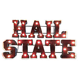 Collegiate Illuminated Recycled Metal Wall Décor Collection