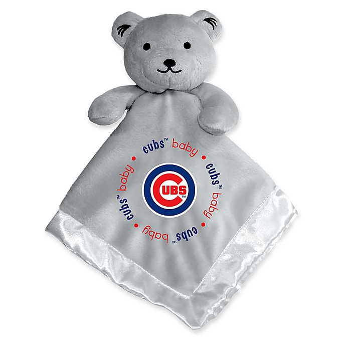 Alternate image 1 for Baby Fanatic® MLB Chicago Cubs Security Bear in Grey
