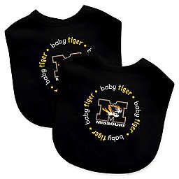 Baby Fanatic® University of Missouri 2-Pack Bibs