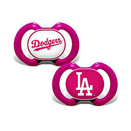 MLB 2-Pack Team Logo Pacifier Collection in Pink