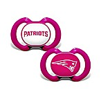 NFL New England Patriots 2-Pack Team Logo Pacifiers