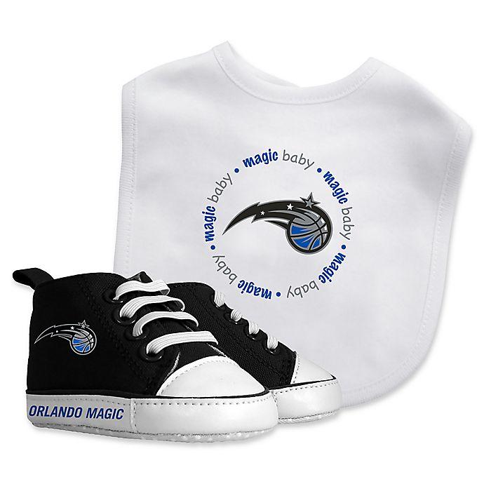 Alternate image 1 for Baby Fanatic® NBA Orlando Magic 2-Piece Bib and Prewalker Gift Set