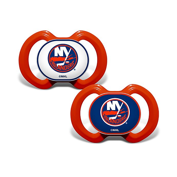 brand new 3e50d bb52c Baby Fanatic® NHL New York Islanders 2-Pack Pacifiers | Bed ...