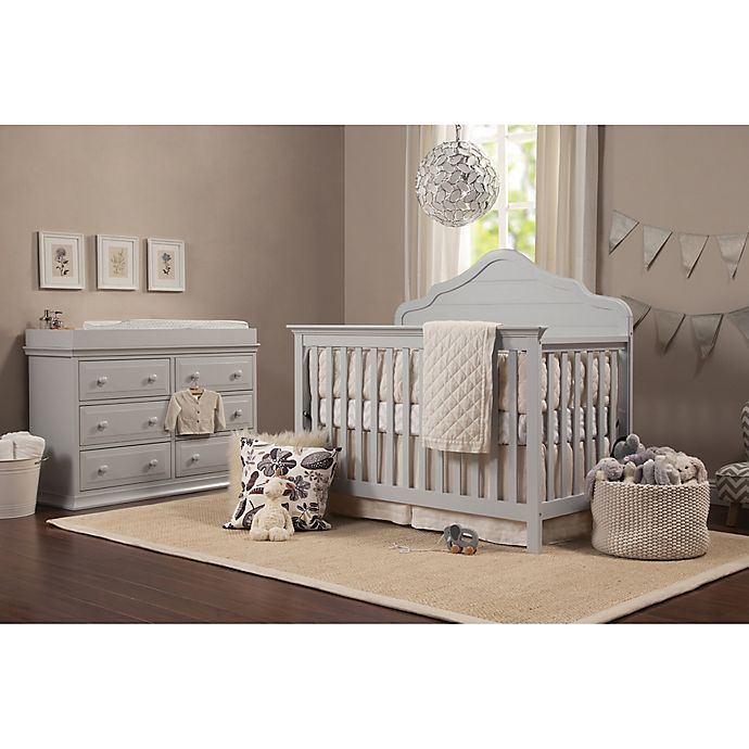 Alternate image 1 for DaVinci Flora Nursery Furniture Collection in Fog Grey