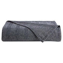 Downtown Company Herringbone Reversible Throw Blanket
