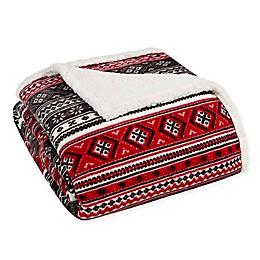 Eddie Bauer® Fair Isle Reversible Blanket