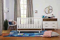 Babyletto Eero Nursery Furniture Collection in White/Walnut