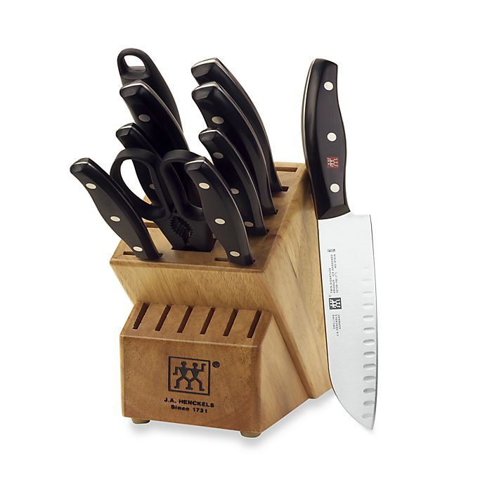 Alternate image 1 for Zwilling® J.A. Henckels Twin Signature 11-Piece Knife Block Set