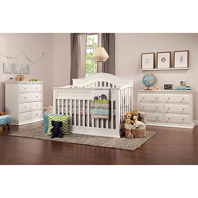Alternate image 1 for DaVinci Brook Nursery Furniture Collection in White