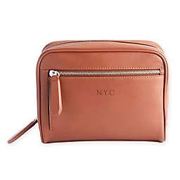 ROYCE New York Toiletry Front Zip Bag