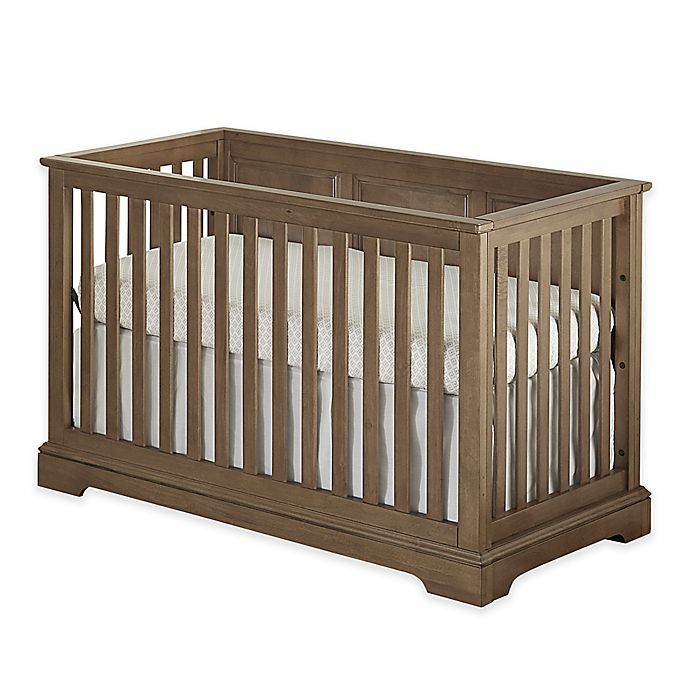 Alternate image 1 for Westwood Design Hanley 4-in-1 Convertible Crib in Island Cashew
