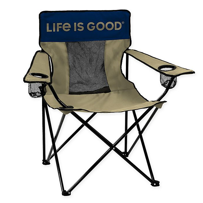 Terrific Life Is Good Elite Beach Chair Bed Bath Beyond Caraccident5 Cool Chair Designs And Ideas Caraccident5Info