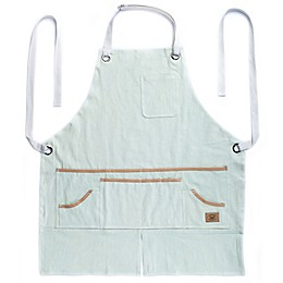 Heavy Duty Gardening Apron in White