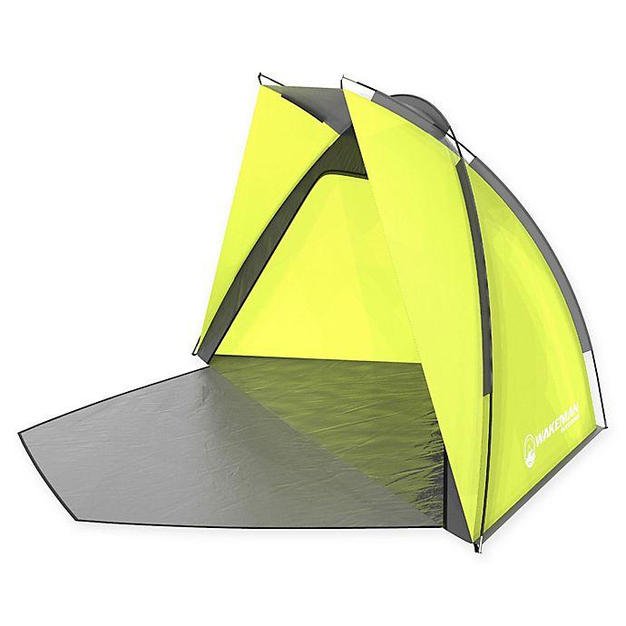 Wakeman Uv Beach Tent In Yellow Bed Bath Amp Beyond
