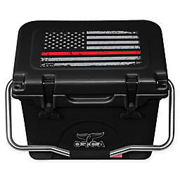 ORCA 20 Qt. Standing Cooler in Black/Red