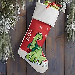 Dinosaur Personalized Christmas Stocking