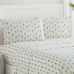 Caribbean Joe Pineapple Print Sheet Set