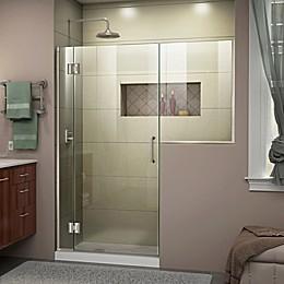 DreamLine Unidoor-X 56.5-Inch Frameless Hinged Shower Door