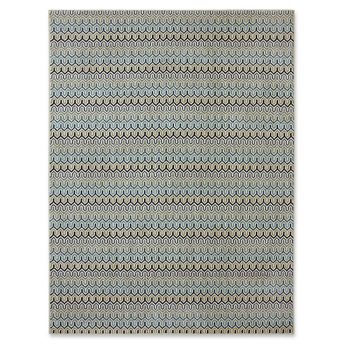Alternate image 1 for Karastan Pacifica Seabridge 9-Foot 6-Inch x 12-Foot 11-Inch Area Rug in Beige